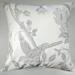 Cushion Cover in Laura Ashley Dove Grey Summer Palace 16""